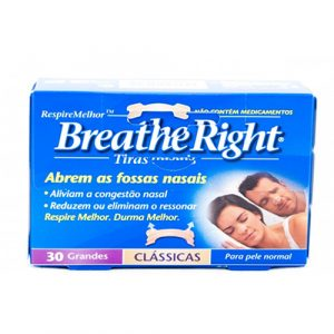 BREATHE RIGHT TIRAS NASALES GRANDES 30 UNIDADES